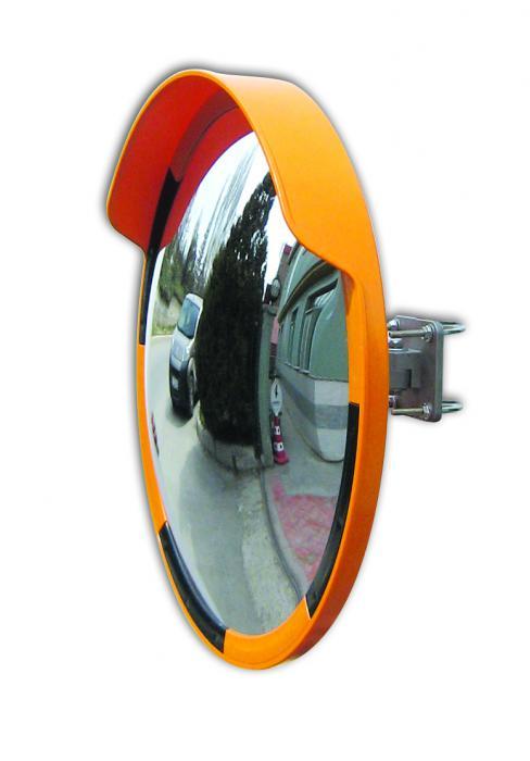 Specchio Convesso 600 Mm Giallo Nero